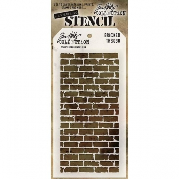 Tim Holtz Layering Stencil - Bricked