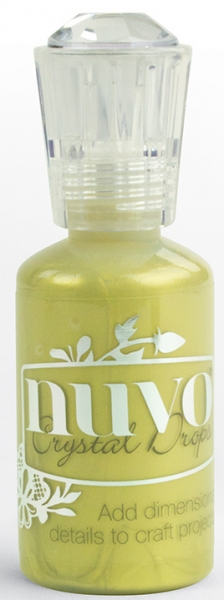 Nuvo Crystal Drops - Metallic Bright Gold