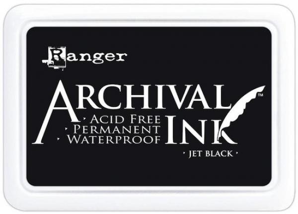 Archival Ink - Jet Black Stempelkissen