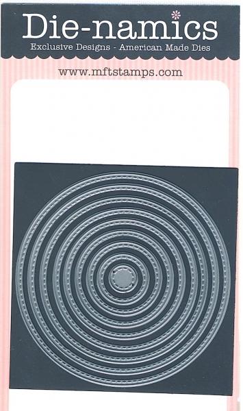 Die-namics - Stitched Circle Stax