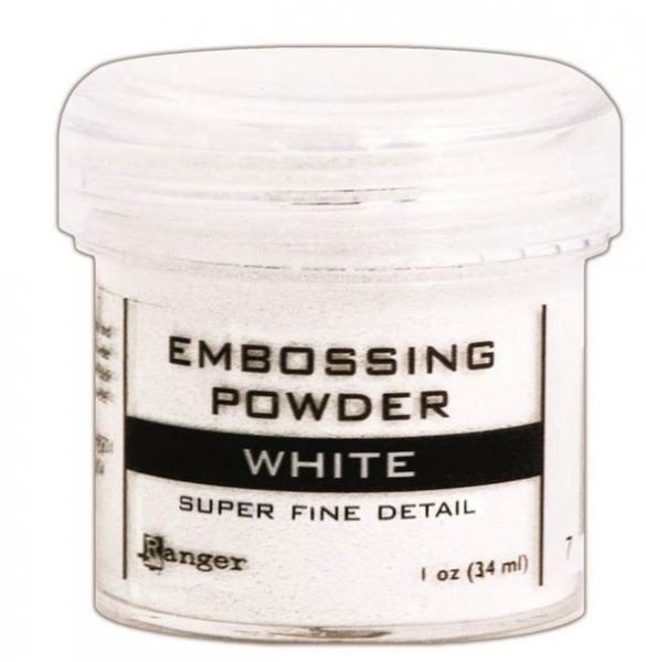 Ranger Embossing Pulver - White Super Fine Detail