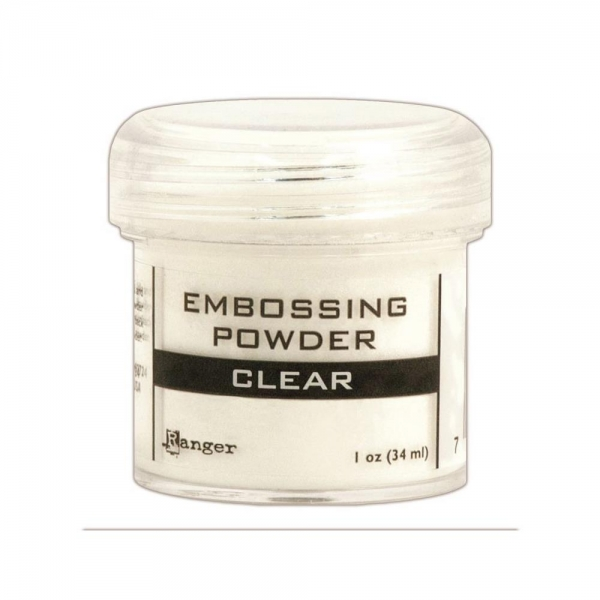 Ranger Embossing Pulver -Clear