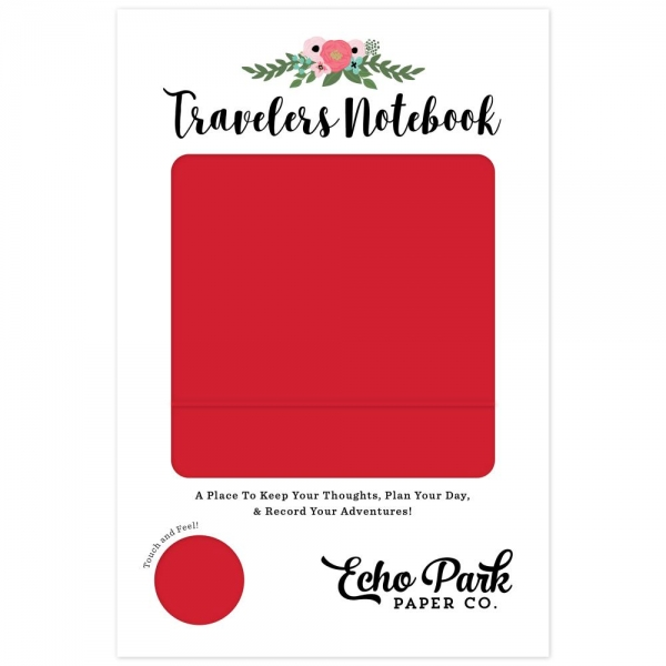 Echo Park Travelers Notebook - Red