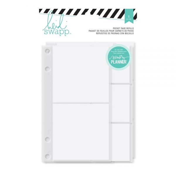 Heidi Swapp 6 Pocket Pages Refiller