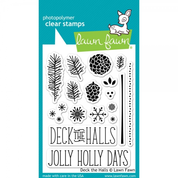Lawn Fawn Clear Stamps - Deck the Halls