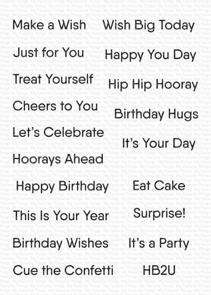 MFT Little Birthday Notes