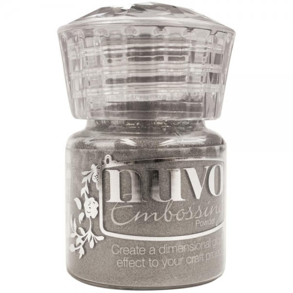 Nuvo Embossing Powder - Hot Chocolate