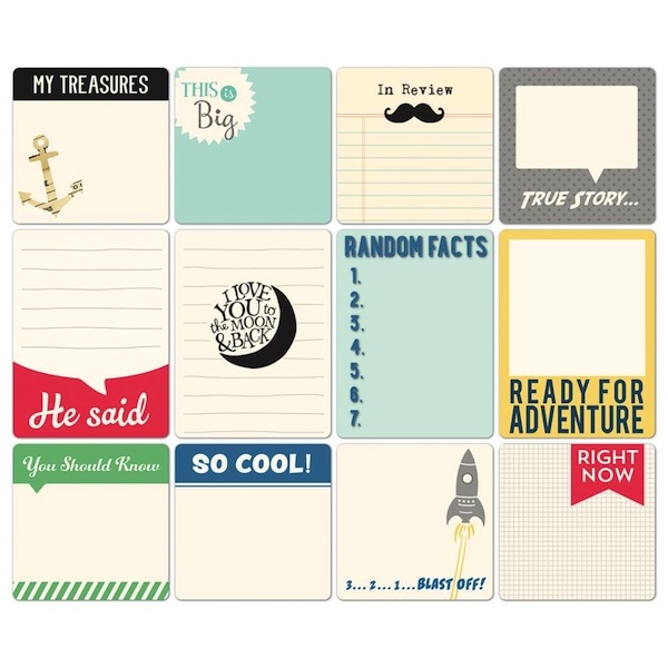 Daily Flash Memory Cards - All Boy