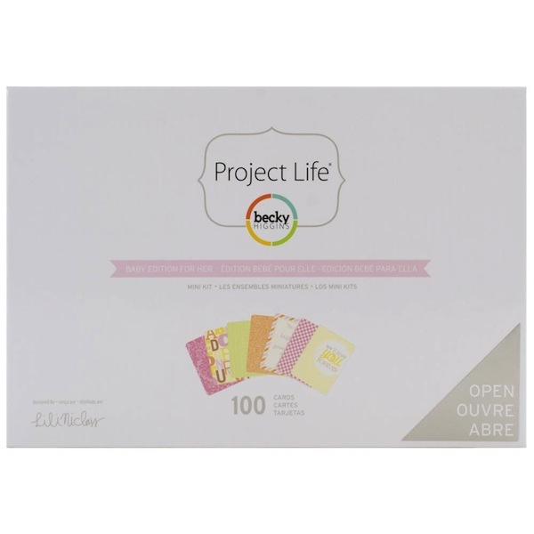 Projekt Life - Mini Kit - Baby Edition for Her