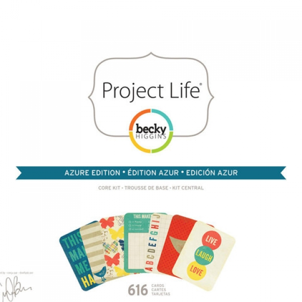 Projekt Life - Core Kit - Azure Edition