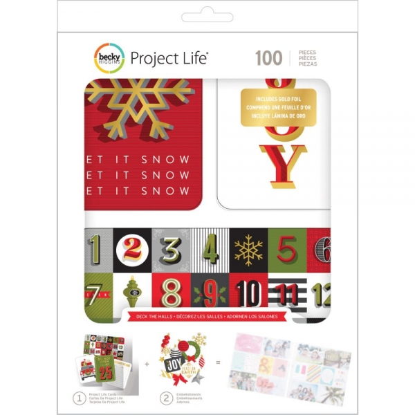Project Life Value Kit - Deck the Halls - 100-teilig