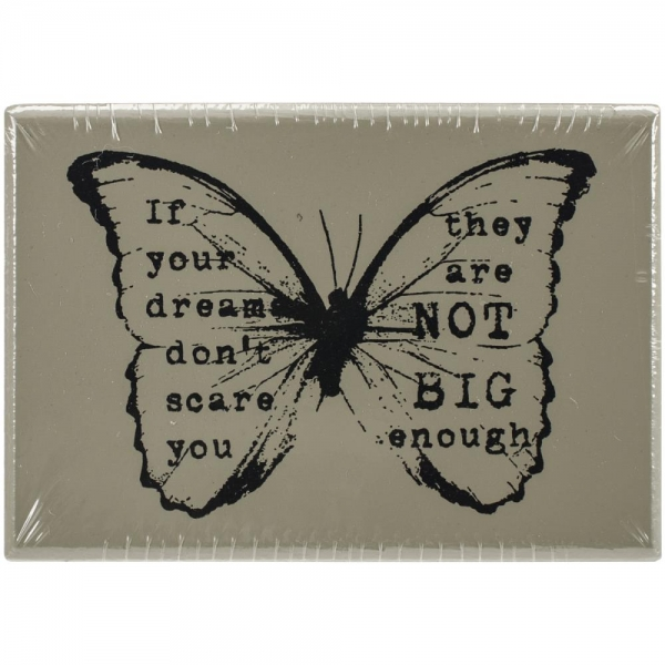 Finnabair Stempel - If your dream ... (Schmetterling)