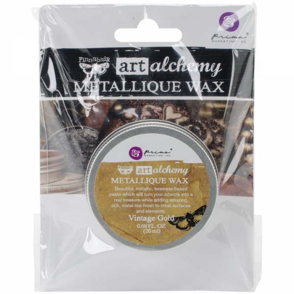Prima Metallique Wax - Vintage Gold