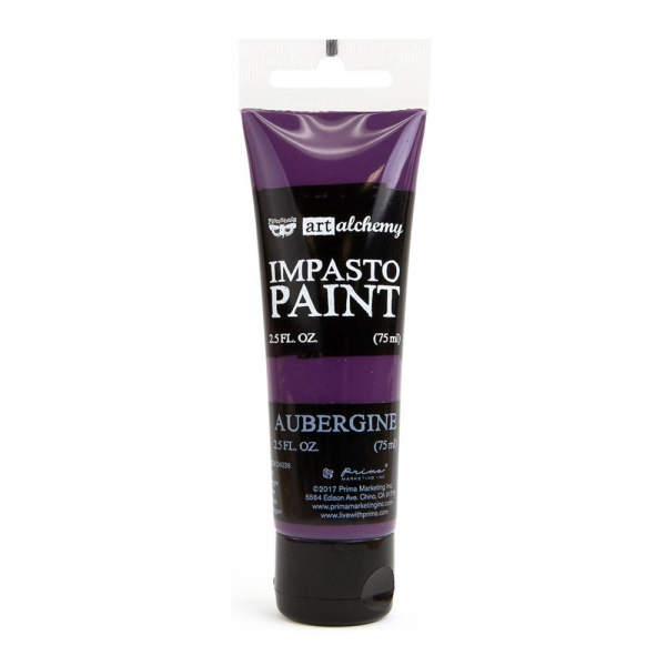 Prima Marketing Art Alchemy - Impasto Paint - Aubergine