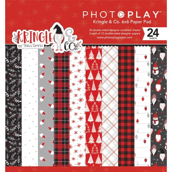 "Photo Play 6"" x 6"" Paper Pad - Kringle & Co."