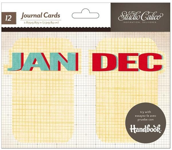 Studio Calico Journaling Cards - Weekdays