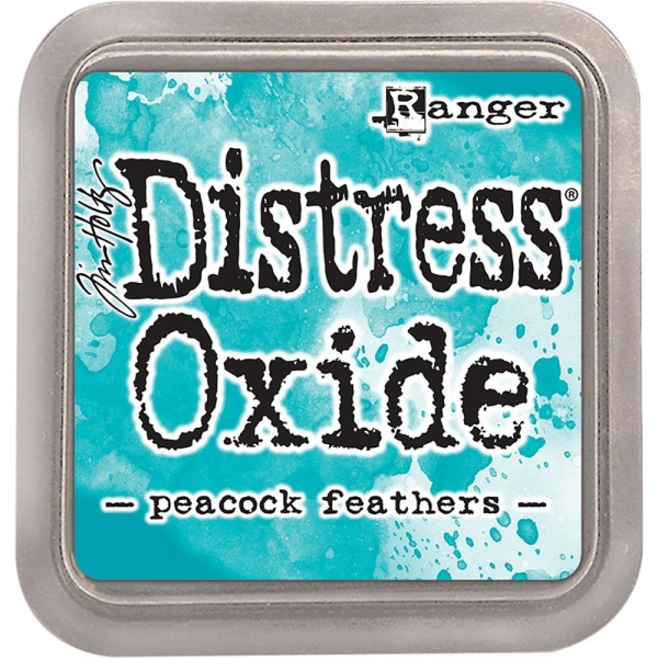 Ranger - Tim Holtz Distress Oxide Pad - Peacock Feathers