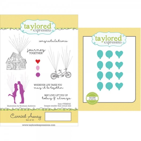 Taylored Expressions Stamp + Dies Set - Carried Away