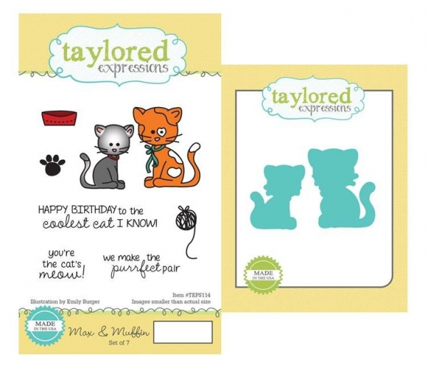 Taylored Expressions Stamp + Dies Set - Max & Muffin