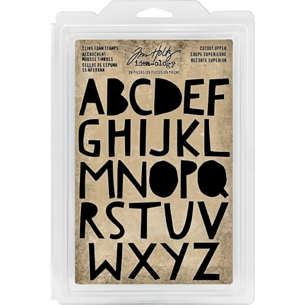 LOT of TIM HOLTZ Foam cling Stamps to choose from