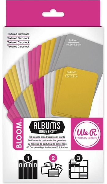 We R Memory Keepers - Bloom Journaling Cards
