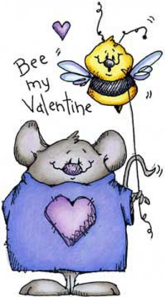 Mouse & Bee Valentine