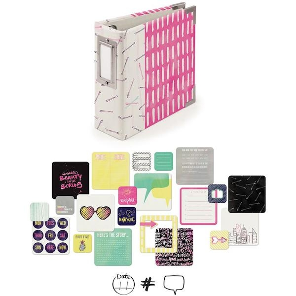 We R Memory Keepers 4 x 4 Album Kit - It Factor