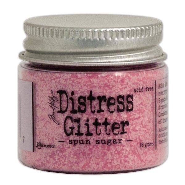 Ranger Distress Glitter - Spun Sugar