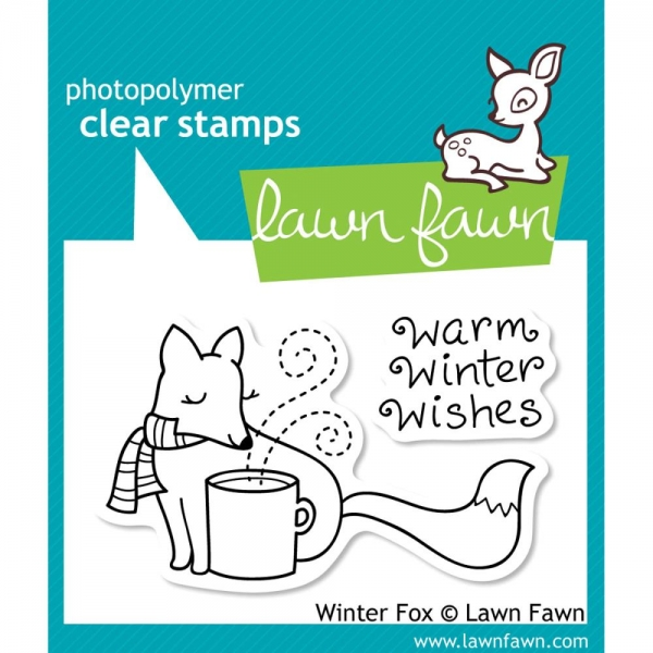 Lawn Fawn Clear Stamps - Winter Fox
