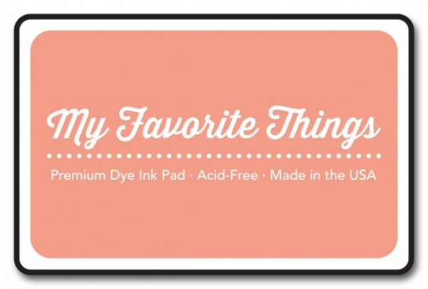 MFT Premium Dye Ink Pad - Coral Crush