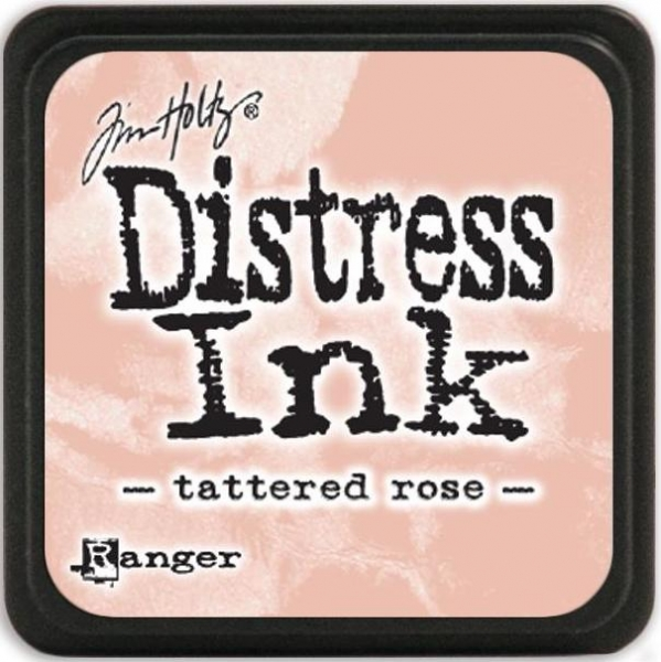 Mini Distress Ink Pad - Tatterd Rose