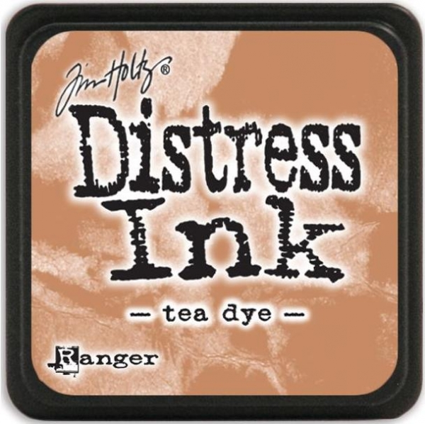 Mini Distress Ink Pad - Tea Dye