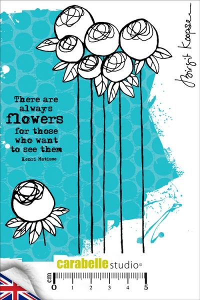 Carabelle Studio - A6 Birgit Koopsen- There are always flowers