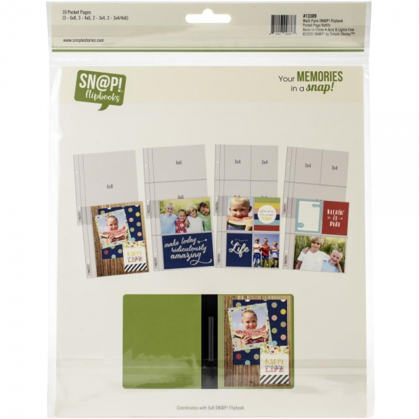 SN@P! Flipbooks - Pocket Pages - Multi Pack