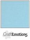 Craft Emotions Leinenkarton - Hellblau