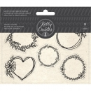 Kelly Creates - Acrylic Wreath Stamps