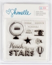 Shimelle - Clear Stamp Set -11 Stck (Globus)