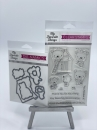 MFT Die-Namics Stanz & Stempel Set - Builder Bears