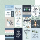 "Carta Bella Winter Market - 3 x 4 Journaling Cards 12"" x 12"""