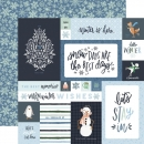 "Carta Bella Winter Market - 4 x 6 Journaling Cards 12"" x 12"""