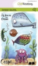 Craft Emotions Clear Stamps - Ocean 2