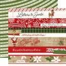 Echo Park - A Perfect Christmas - Border Stripes 12""