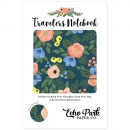 Echo Park Travelers Notebook - Standard - Navy Floral