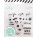 Heidi Swapp 18 Clear Stamps - Fresh Start, Exercise