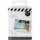 Heidi Swapp - Marquee Love Lightbox Letters - Paradise (Weiß)