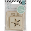 %Heidi Swapp 6 Wood Pocket Cards %