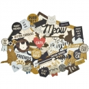 KAISERCRAFT COLLECTABLES - Die-Cuts Shapes - Pawfect - Cat