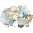 KAISERCRAFT COLLECTABLES - Die-Cuts Shapes - Let`s Go