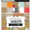 "Mambi Paper Pad - Inspiration Quotes 12"" x 12"""