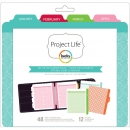 "Project Life Planner Inserts & Dividers 6""X8"" -Calendar Page"